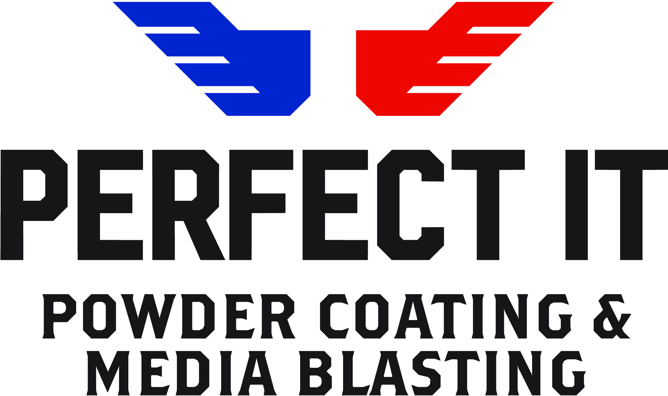 Perfect-It Powder Coating and Media Blasting logo